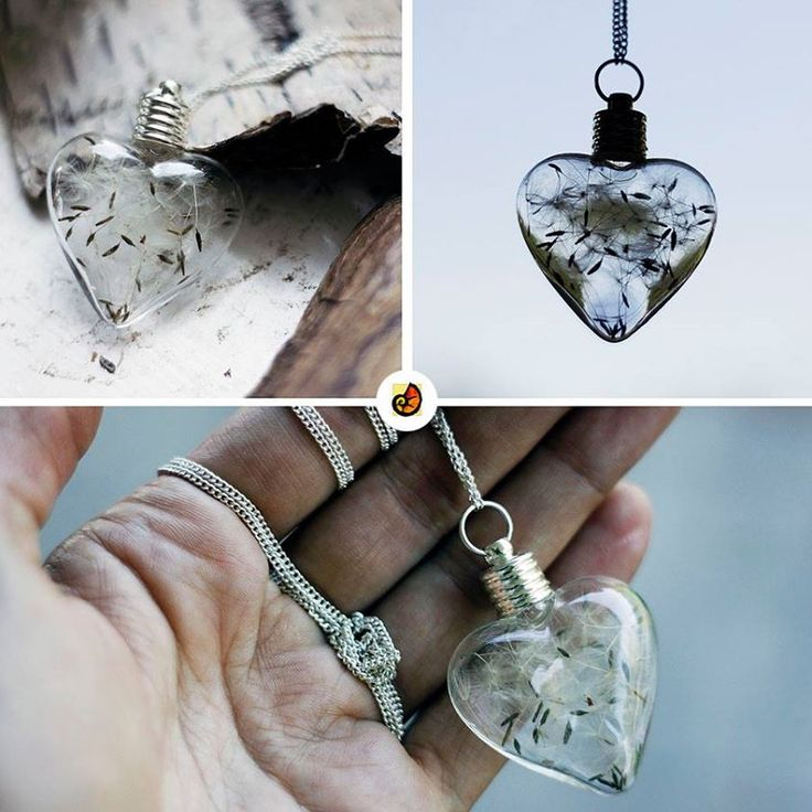 Szafajet jewellry #szafajet #glass #dandelionseed