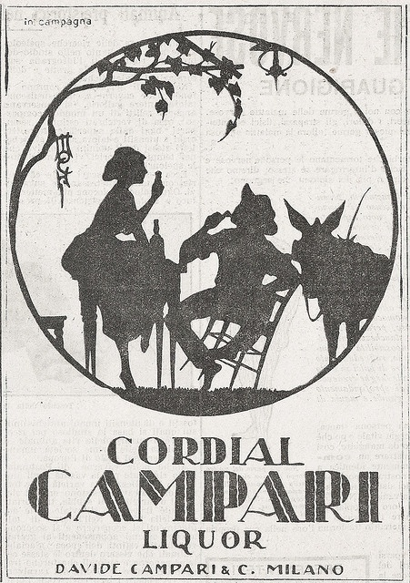 Cordial Campari by VINTAGE AD, via Flickr
