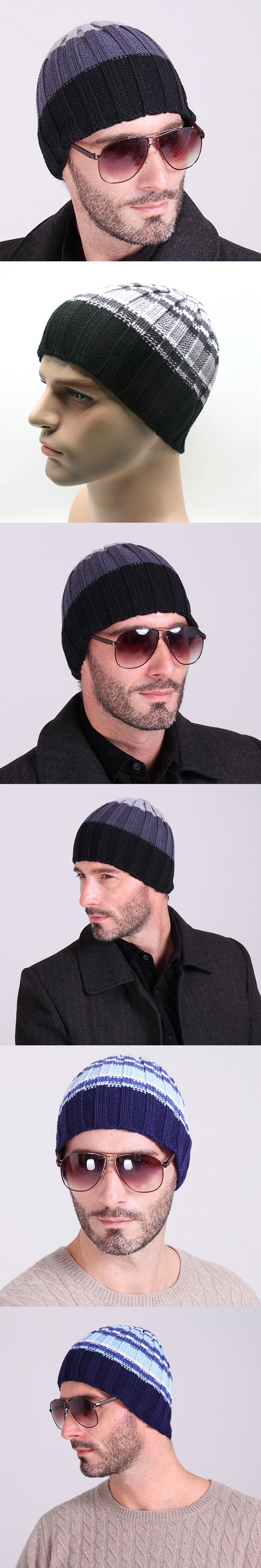 Women men beanie hat winter knitted caps and hats fashion brand skull female winter wool knitted skull beanies mens hat