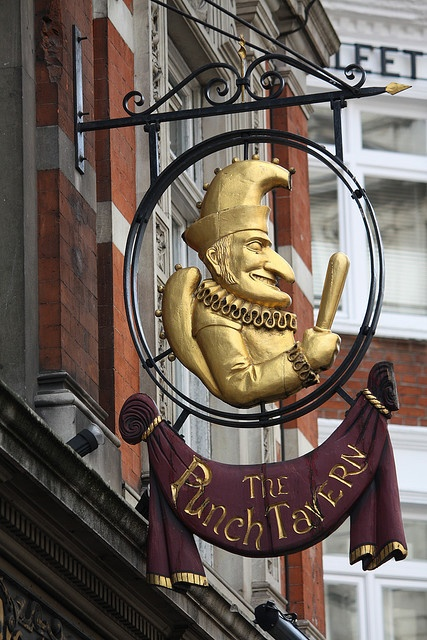 Punch Tavern, Fleet Street, London