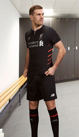 Jordan Henderson is looking forward to wearing the new away strip