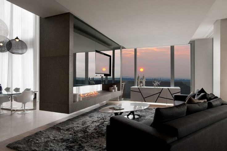 Luxury penthouse in Johannesburg, South Africa by SAOTA and OKHA Interiors