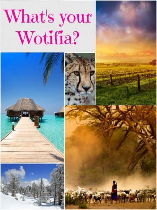 What is your ultimate bucket list travel destination? See mine on the blog #Wotifia