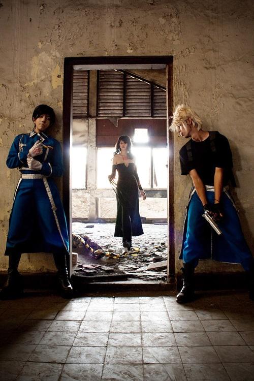 Fullmetal Alchemist. Epic cosplay!!