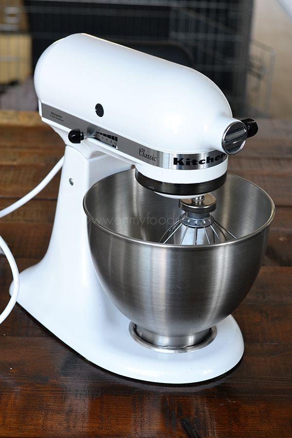 Mijn KitchenAid Classic Mixer (JA ECHT!) - OhMyFoodness