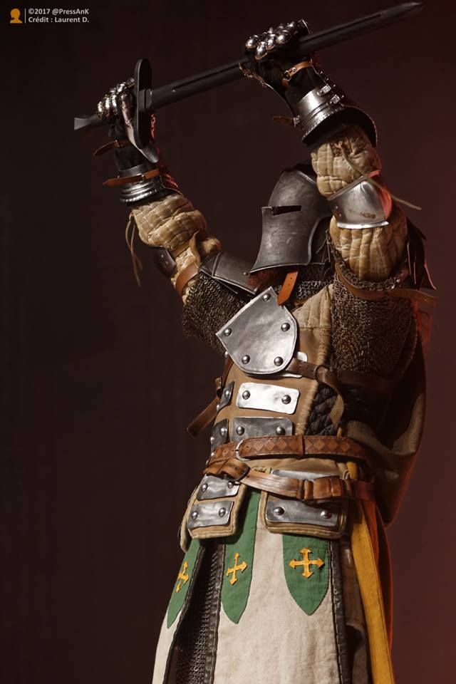For Honor - Warden cosplay - Japan Expo Sud by Carancerth ...
