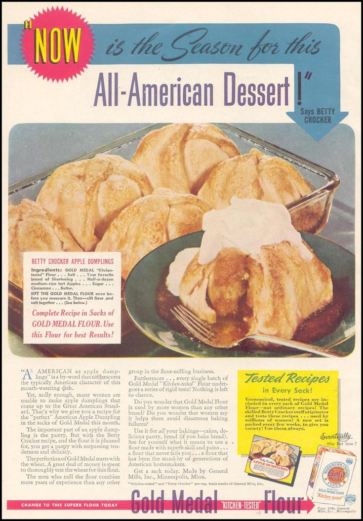 gold medal flour | woman's day | 1940