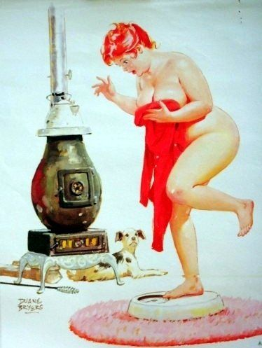 Hilda by Duane Bryers - Luv her. Just throw that scale away Hilda it's just a number!!