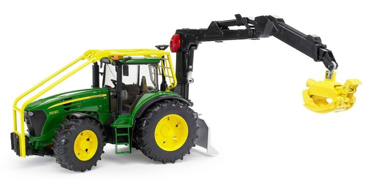 Bruder Toys John Deere 7930 Forestry Tractor 1 : 16 Scale