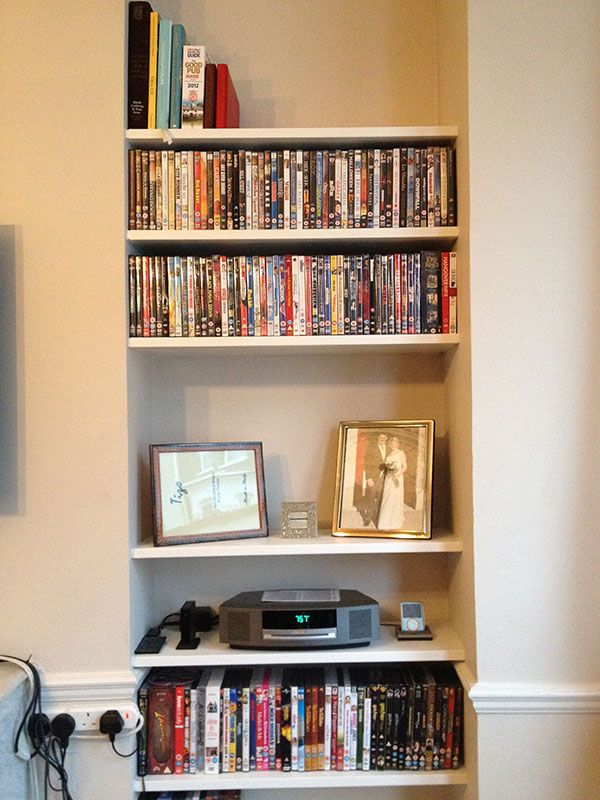 narrow alcove shelves - Google Search