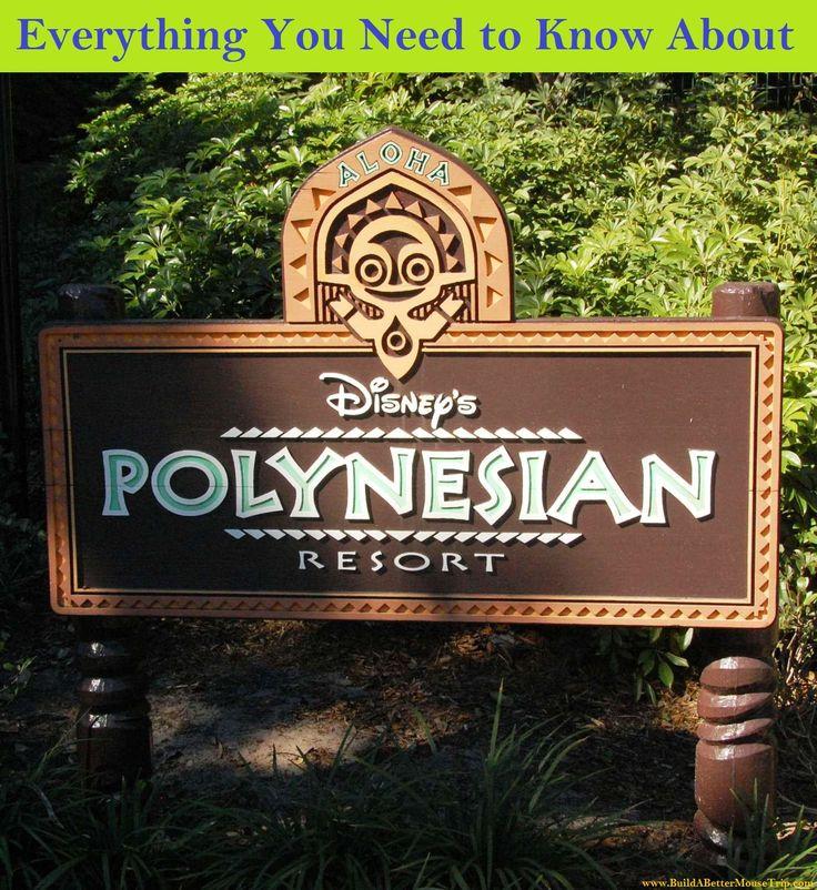 Disney's Polynesian Resort Photos & Information at http://www.buildabettermousetrip.com/disneys-polynesian-resort