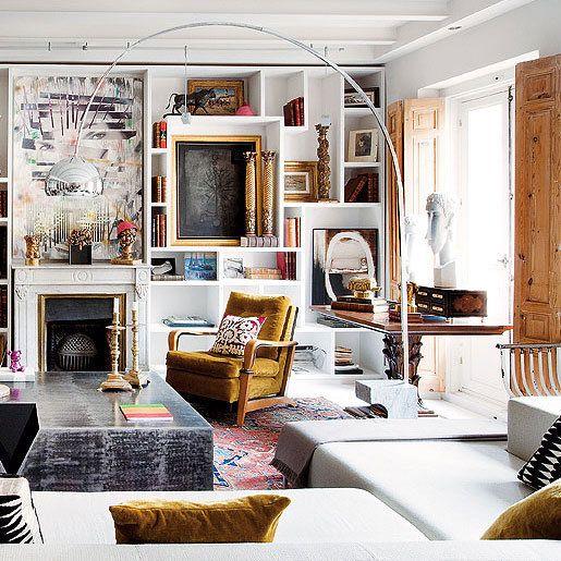 Las 25 mejores ideas sobre chic antiguo en pinterest y m s for Decoracion piso 65 m