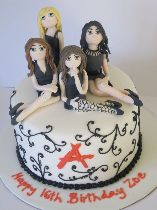 Pretty Little Liars Cake Toppers