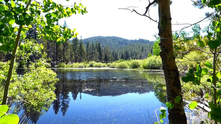 Spooner Lake is near Spooner summit, on the Nevada side of the Lake Tahoe area.