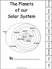 Activities about The Solar System - Zoom Astronomy This gives you a workbook with tabs over the 8 planets, you could take pluto out. I really like how it is just a whole book over the solar system. It gives some good information on each planet which is good.