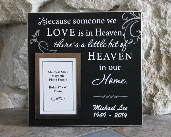 11 best Bereavement / Memorial Picture Frames images on Pinterest ...