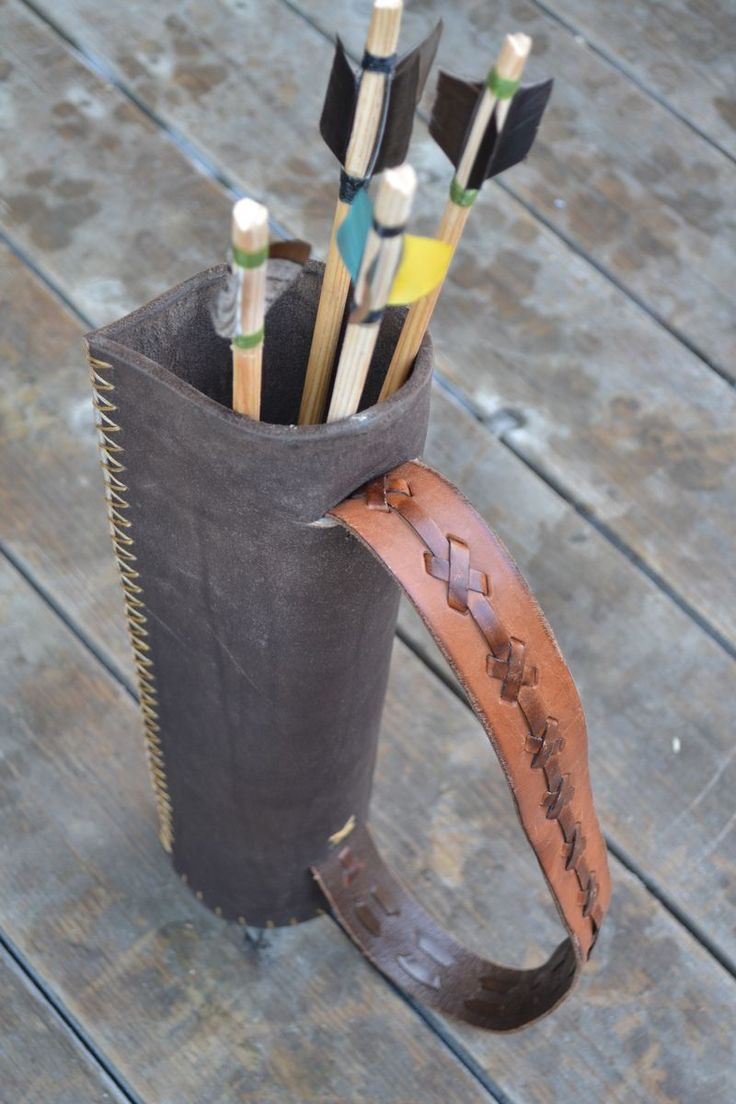 Handmade quiver instructions
