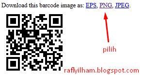 Cara Pasang Barcode Di Blog