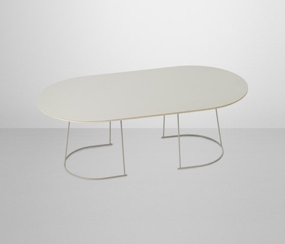 Side tables-Tables-Airy Coffee Table Half Size-Muuto