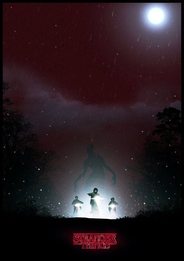 Stranger Things Poster - Created by Colin Morella