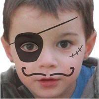 Makeup & Hair Ideas: Maquillage enfant Pirate , Tuto maquillage enfant – Loisirs créatifs…
