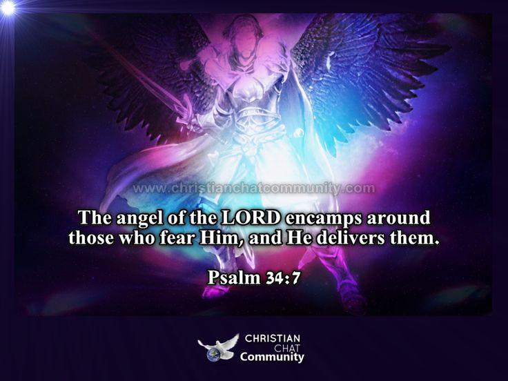 Psalm 34:7 - Christian Chat Community