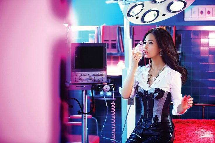 SNSD Girls Generation Yuri Brown Long