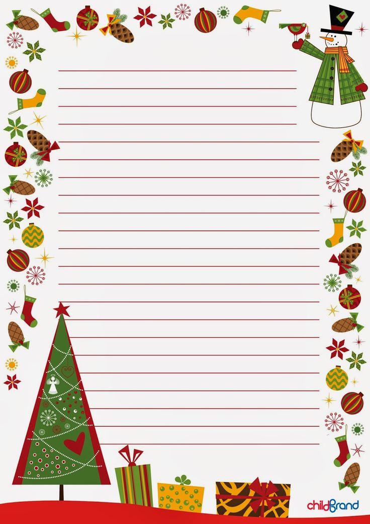 """Идея № 35 """"Письмо Деду Морозу"""" (шаблоны) - Леди IQ - Babyblog.ru"""