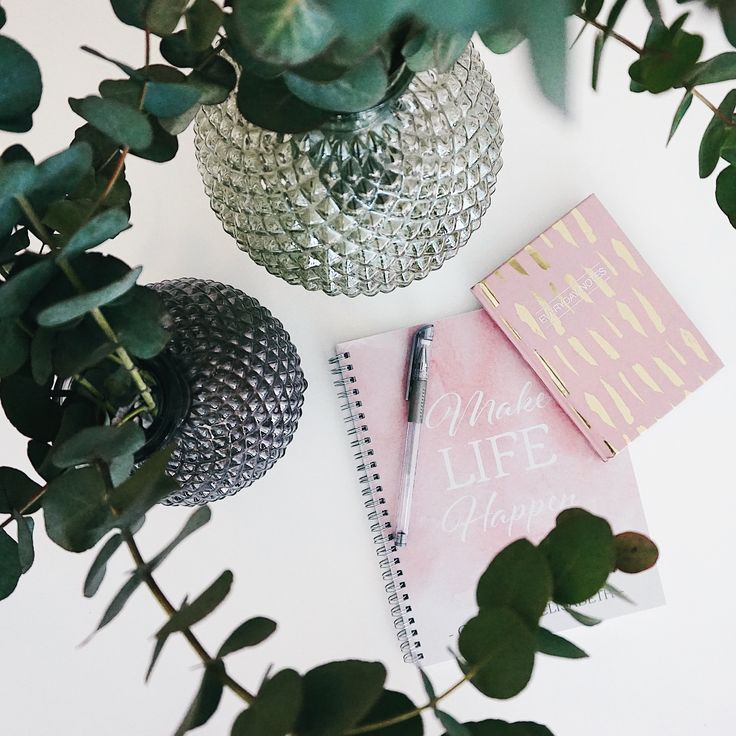 We're in love with pink notebooks