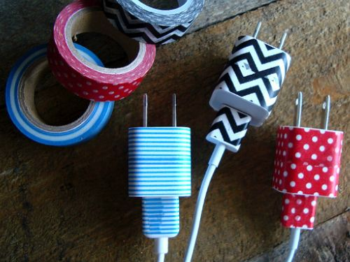 Personalize Your Charger #homehacks #decluttering