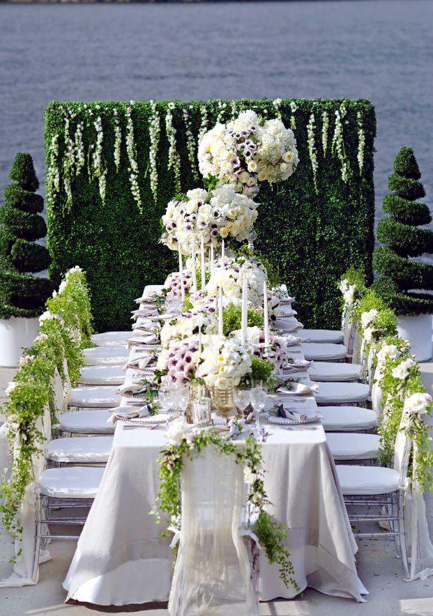 Wedding Tablescape Old World Garden