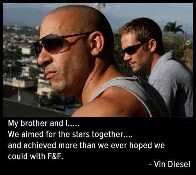 Paul and vin diesel