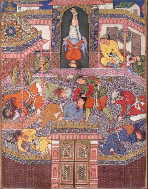 Mahiya slays Gharrad's companions