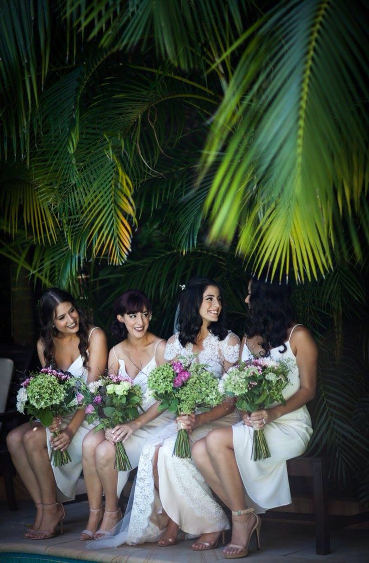 Wedding bouquets & flowers in hair by Florosaria-Florosaria.flowers@gmail.com