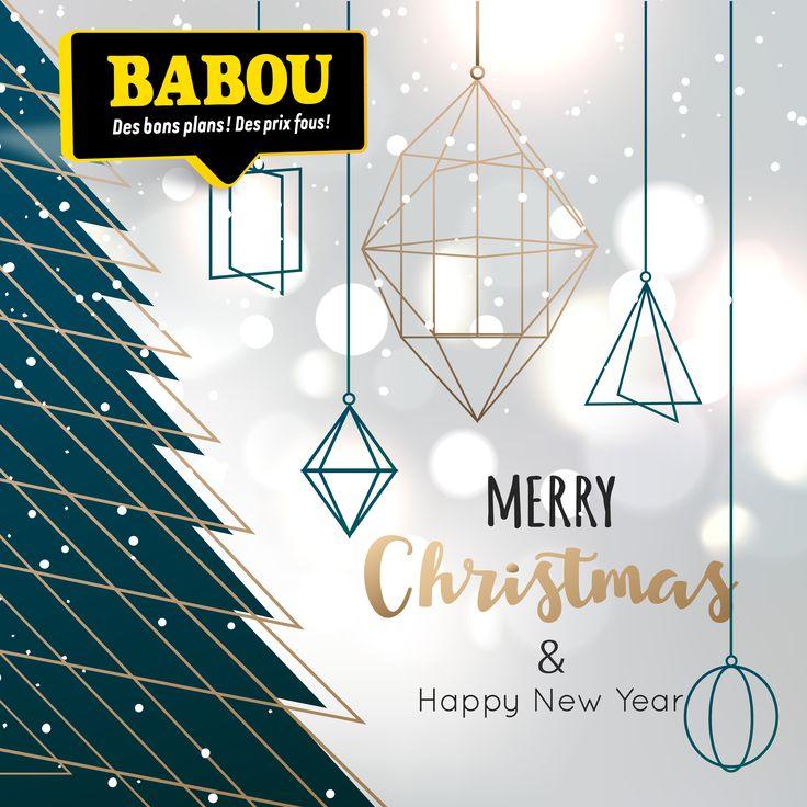 Toute l'équipe BABOU vous souhaite un très joyeux #Noël !