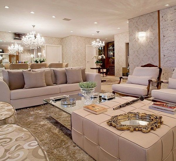 15 melhores imagens de salas luxuosas no pinterest sala for Sala de estar estilo arabe