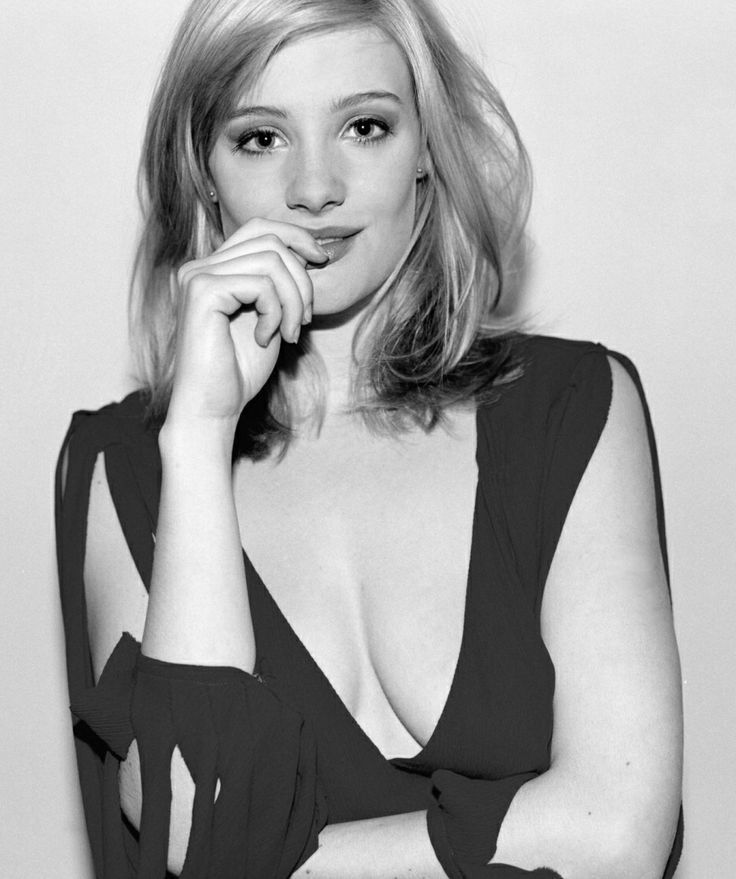 Romola Garai, black and white, high-necked dress, smile http://RomolaGarai.org