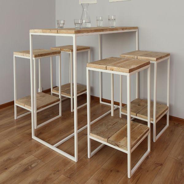 die besten 25 bartisch mit hocker ideen auf pinterest bartisch holz barhocker und sitzhocker. Black Bedroom Furniture Sets. Home Design Ideas