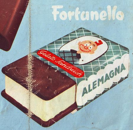 Vintage Fortunello Gelato ad