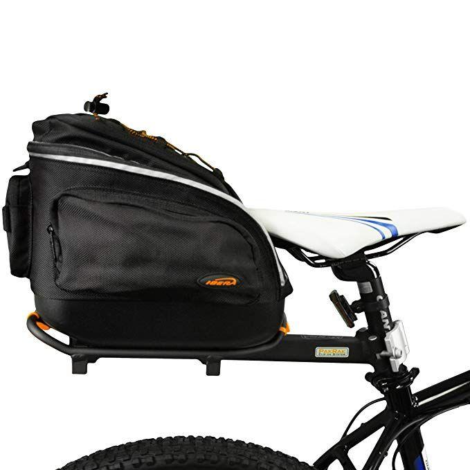 Ibera Pakrak Quick Release Commuter Bike Trunk Bag And Seat Post