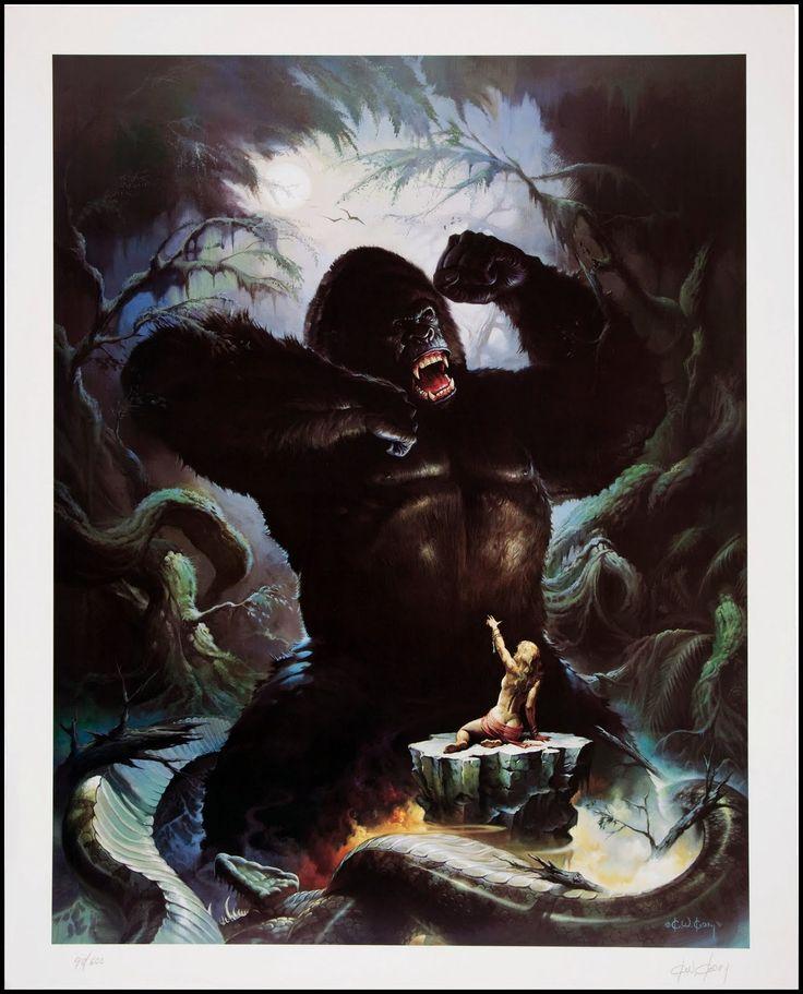 91 Best King Kong Images On Pinterest