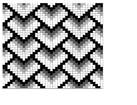 Bead Loom Pattern but I think it would work for knitting too; and patchwork!
