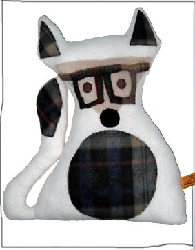 Freud Fox  Let this furry friend psychoanalyse you. Hours of fun as you relate your childhood traumas and realise the cause of your fear of buttons. Soft and understanding, you guys are sure to be life-long friends, billed by the hour.