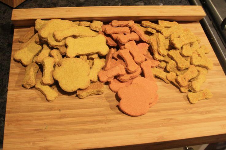 Homemade original dog biscuits