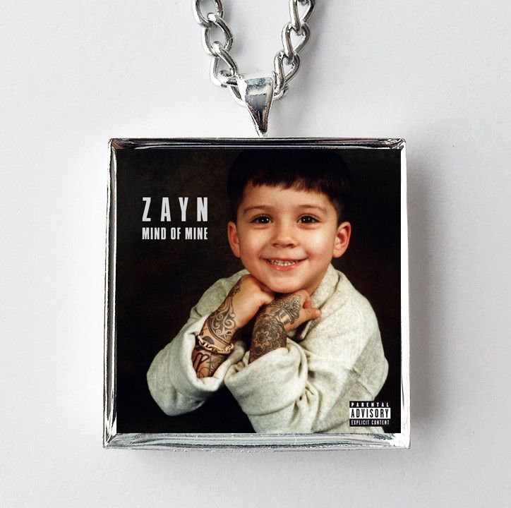 Zayn - Mind of Mine - Album Cover Art Pendant Necklace