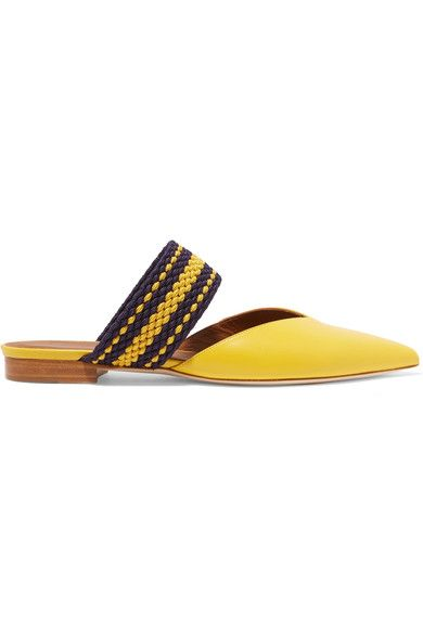 Slight heel Yellow leather Slip on Designer color: Mimosa Made in Italy