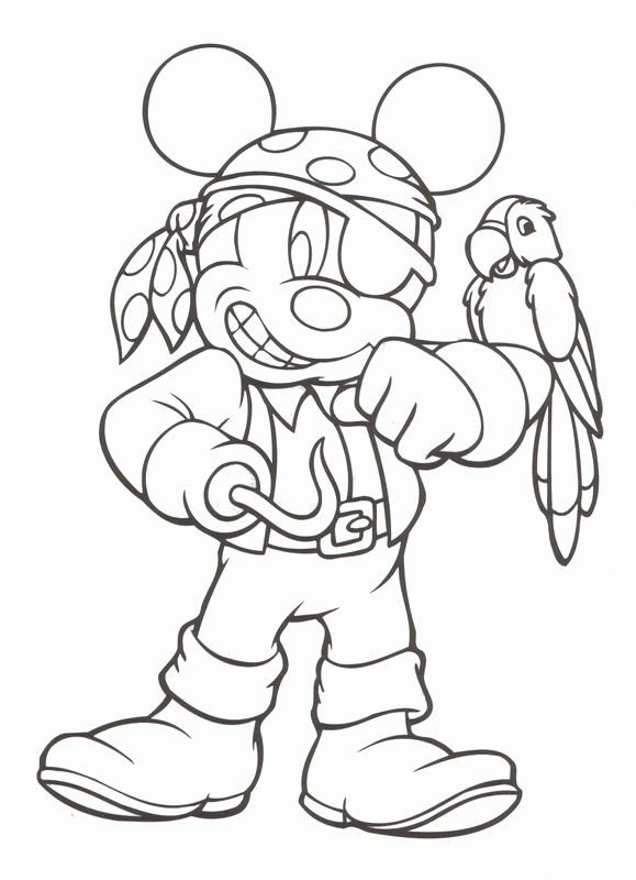 Disney Cruise Coloring Pages In 2020 Halloween Coloring Pages Pirate Coloring Pages Mickey Mouse Coloring Pages