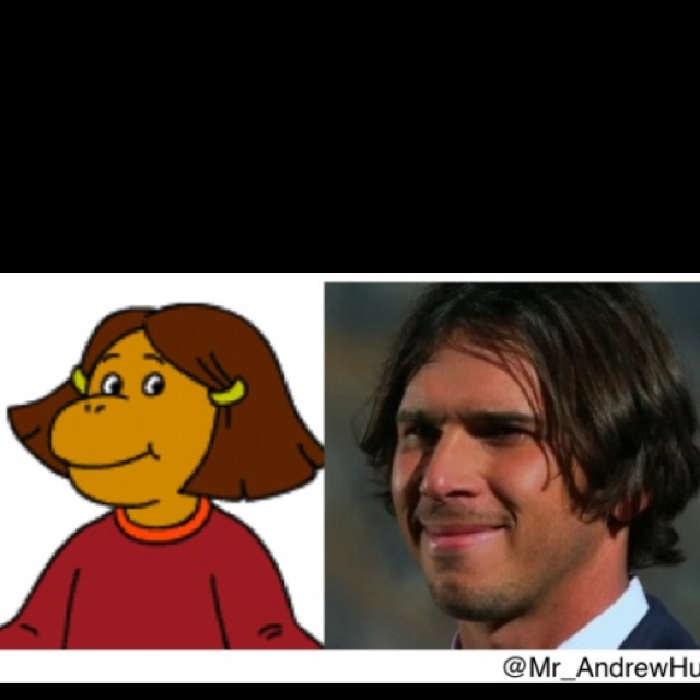 Francine from Arthur and Ben from The Bachelor are the same person.