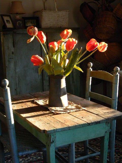 she loved tulips
