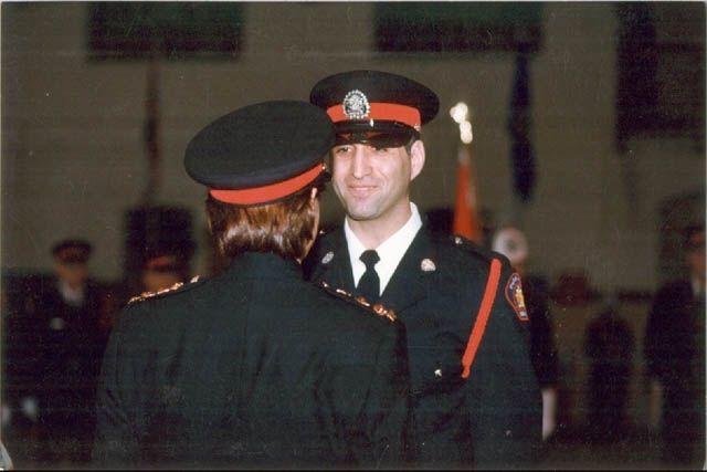 Const. John Petropoulos during Calgary Police Service graduation ceremony